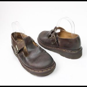 Dr. Martens Polly Brown clog